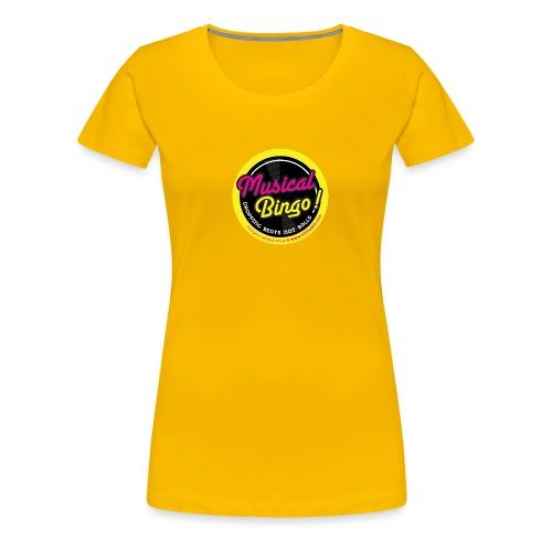 MUSICAL BINGO LOGO - Women's Premium T-Shirt