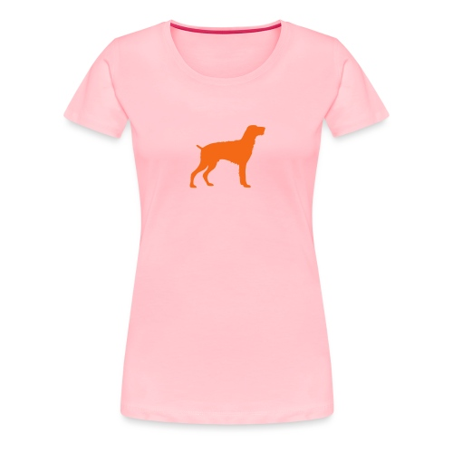 German Wirehaired Pointer - Women's Premium T-Shirt
