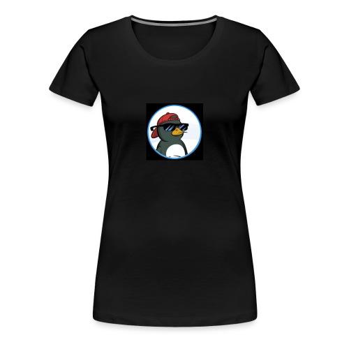Gelid Penguin Profile Picture - Women's Premium T-Shirt