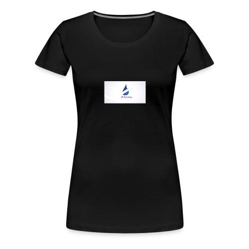 i8 Raindrop - Women's Premium T-Shirt