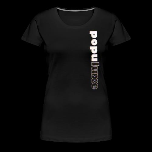 populuxe halftone - Women's Premium T-Shirt