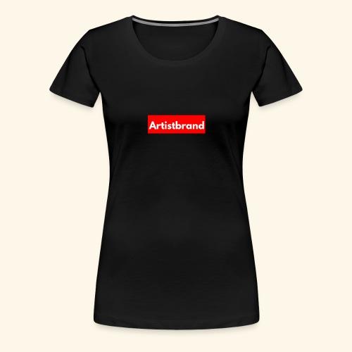 Artist Brand box logo - Women's Premium T-Shirt