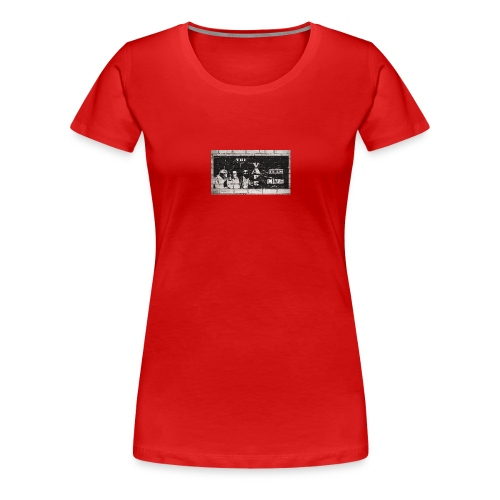 The vApe Team B&W - Women's Premium T-Shirt