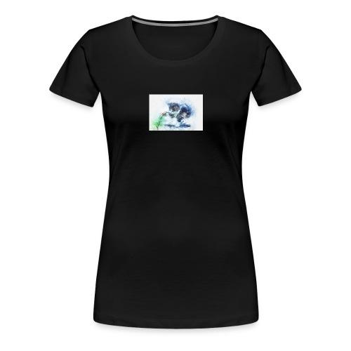 slowly touch - Women's Premium T-Shirt