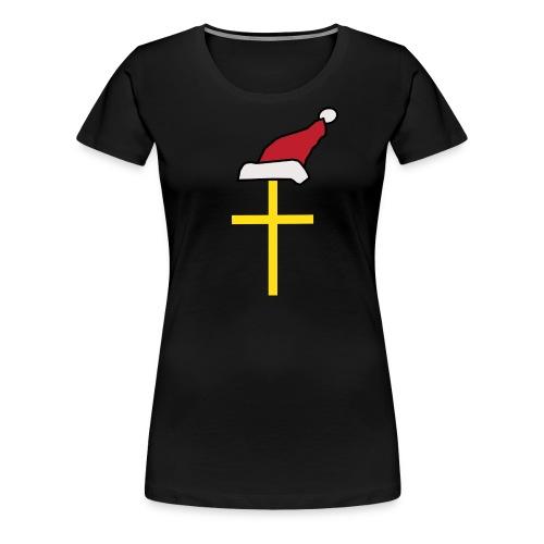 Santa Cross - Women's Premium T-Shirt