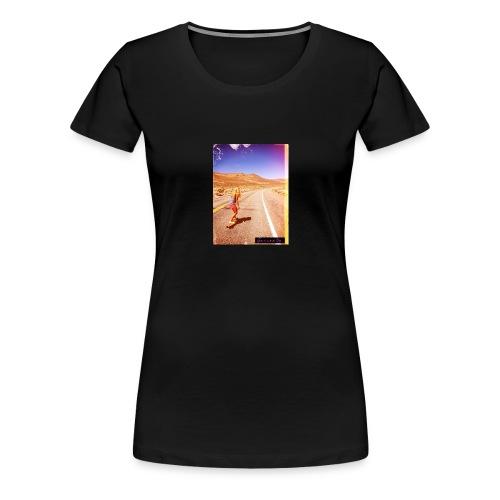 Hot Longboarder - Women's Premium T-Shirt