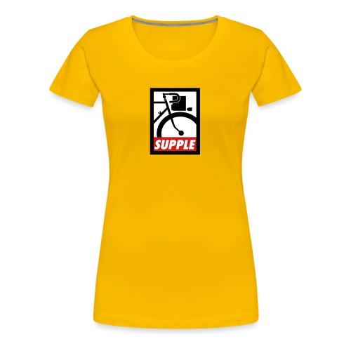Supple4x3Simp2 - Women's Premium T-Shirt