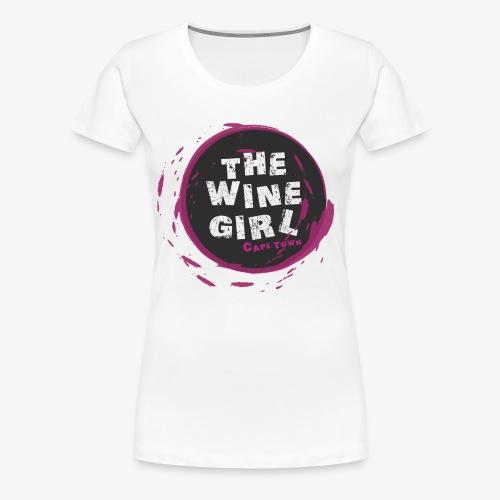 The Wine Girl - Women's Premium T-Shirt