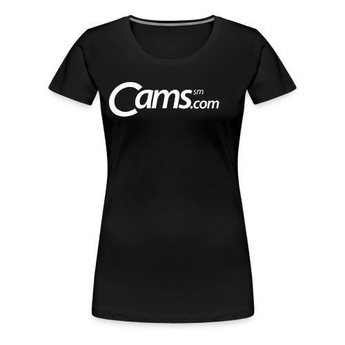 Cams.com Merchandise - Women's Premium T-Shirt