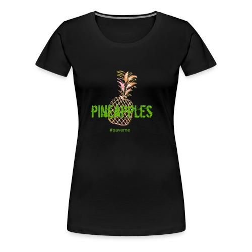 pineapples - Women's Premium T-Shirt