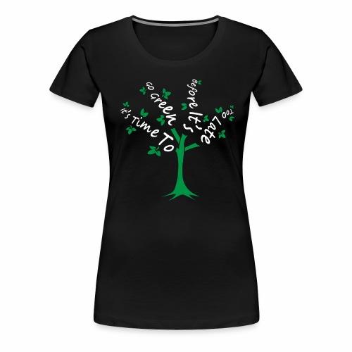 Green Tree - Women's Premium T-Shirt