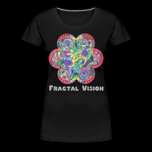 Psychedelic Ohm - Women's Premium T-Shirt