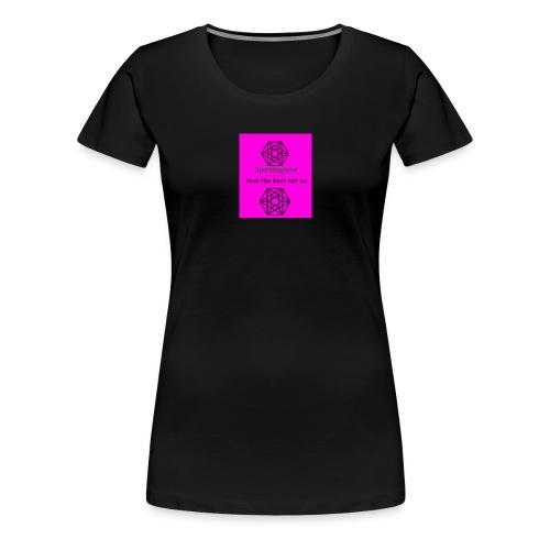The expert logo - Women's Premium T-Shirt