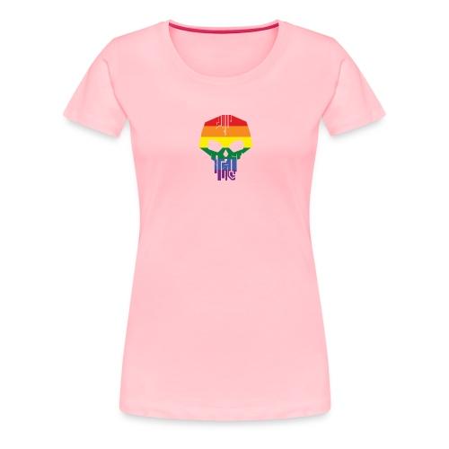 Black Ice Pride Logo - Women's Premium T-Shirt