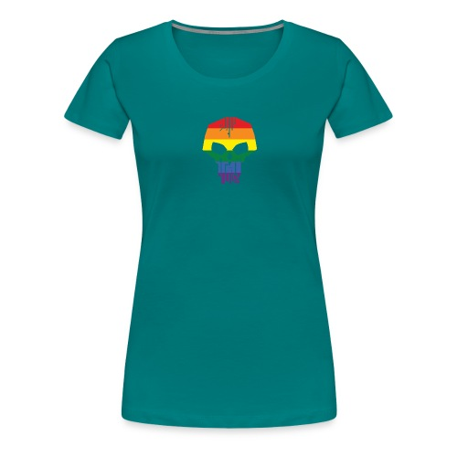 Black Ice Pride Logo - Women's Premium T-Shirt