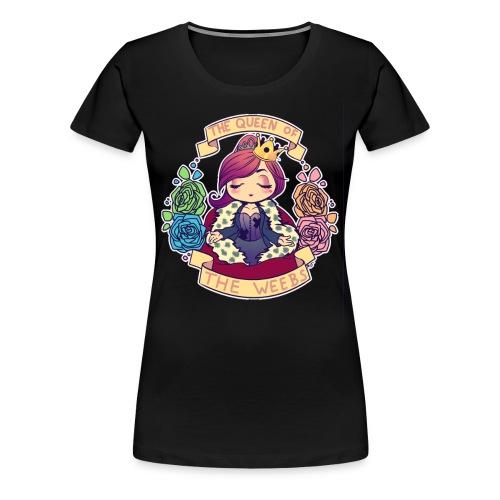MSL: Queen of the Weebs - Women's Premium T-Shirt