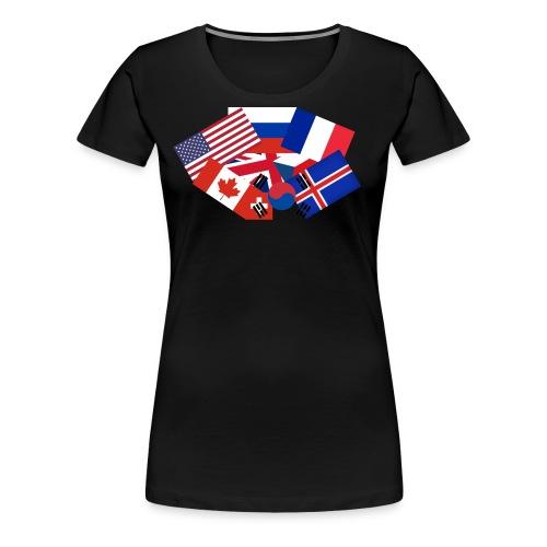 Super flag - Women's Premium T-Shirt