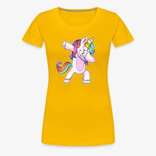 DABBING UNICORN Kid - Women's Premium T-Shirt