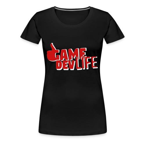 Game Dev Life (NEW DESING) - Women's Premium T-Shirt