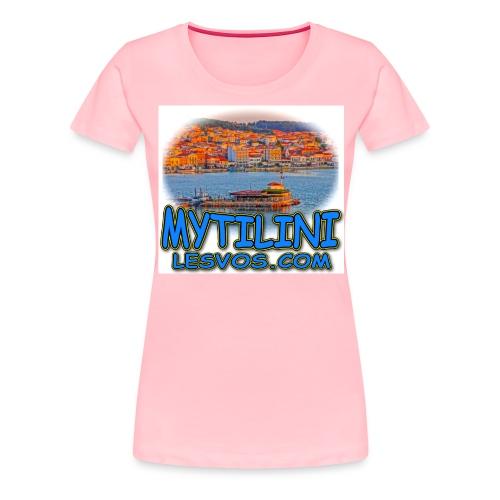 LESVOS MYTILINI 2B jpg - Women's Premium T-Shirt