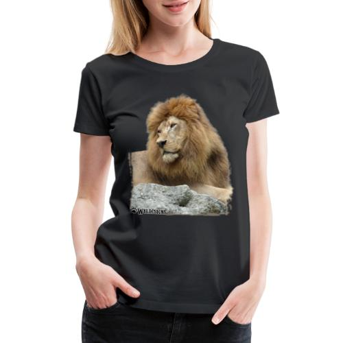 Lion Cutout - Women's Premium T-Shirt
