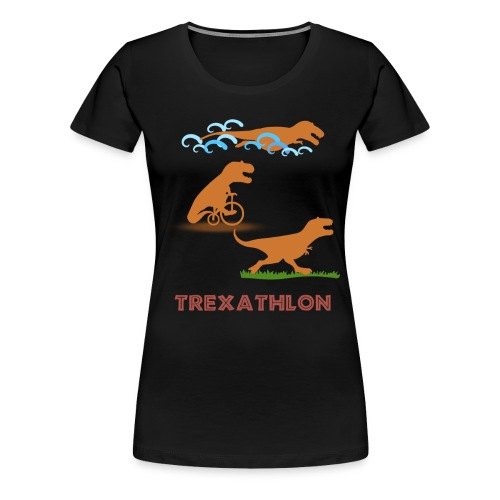 Trexathlon Black - Women's Premium T-Shirt