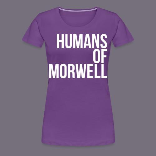 logostacked png - Women's Premium T-Shirt