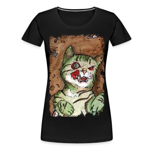 zombie kitten 1 - Women's Premium T-Shirt