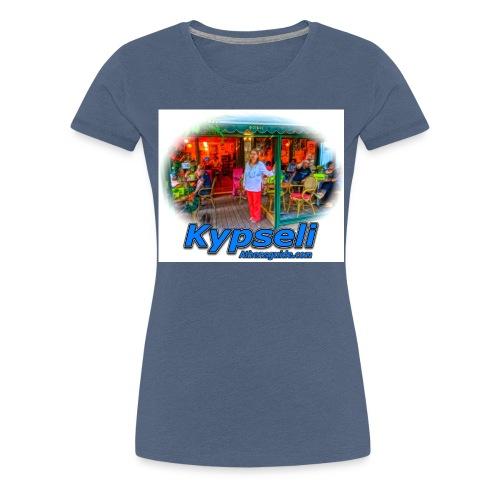 Kypseli Foibos jpg - Women's Premium T-Shirt
