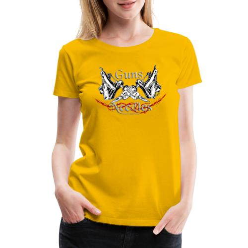 Guns & Needles - Women's Premium T-Shirt