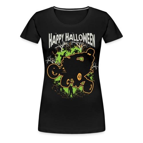 ATV Quad Happy Halloween - Women's Premium T-Shirt