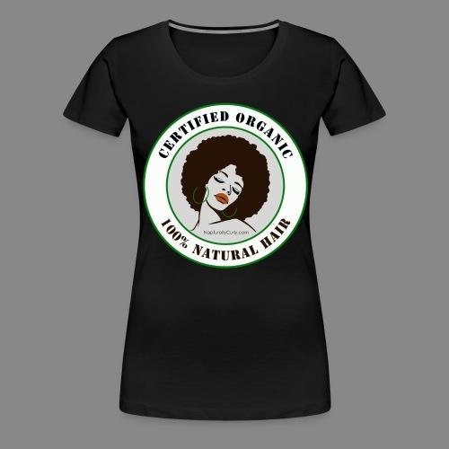 Organic Natural Hair - Women's Premium T-Shirt