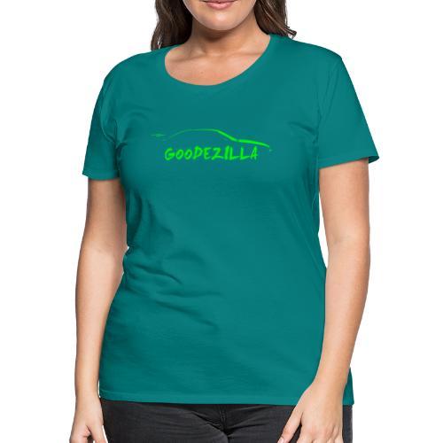Silhouette GoodeZilla Green - Women's Premium T-Shirt