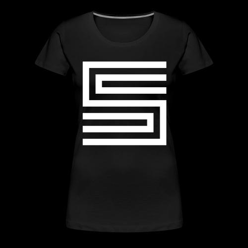 Silva Hound Logo - Women's Premium T-Shirt
