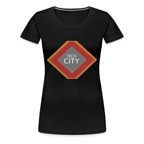 orangetechcitySHIRT102016 png - Women's Premium T-Shirt