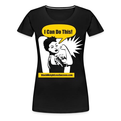 icanshirt fro - Women's Premium T-Shirt
