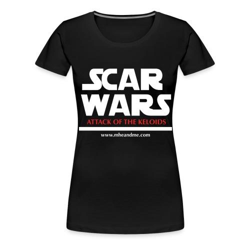 ScarwarsATTACK png - Women's Premium T-Shirt