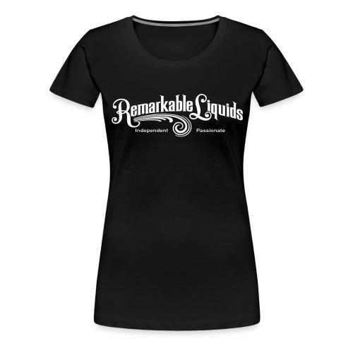 RLMAINWHITE - Women's Premium T-Shirt