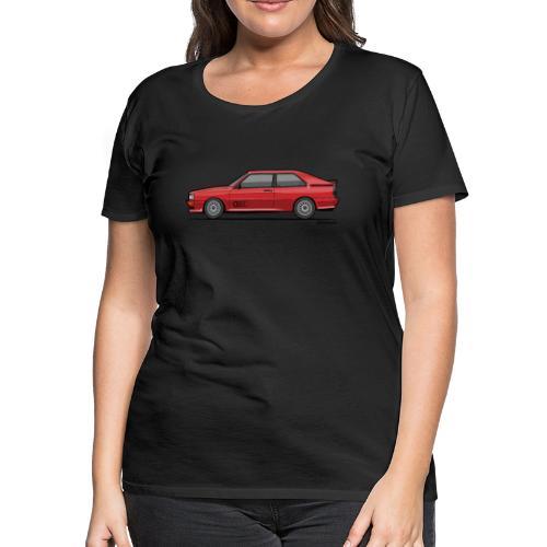 four rings b2 red quattro - Women's Premium T-Shirt