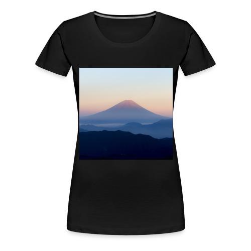 mt fuji 13460963 jpg - Women's Premium T-Shirt