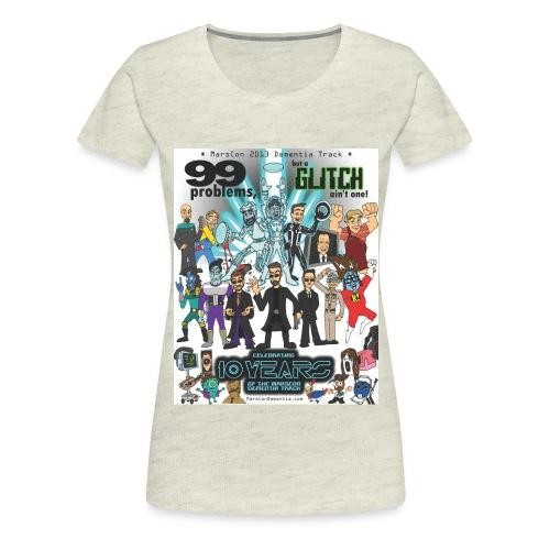 marscon2013tshirtl - Women's Premium T-Shirt