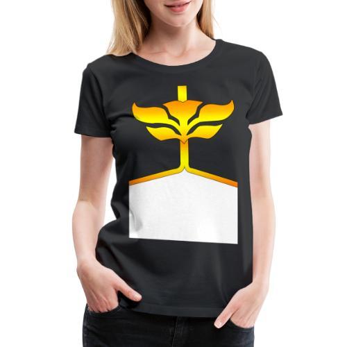 megaforce black and yellow png - Women's Premium T-Shirt
