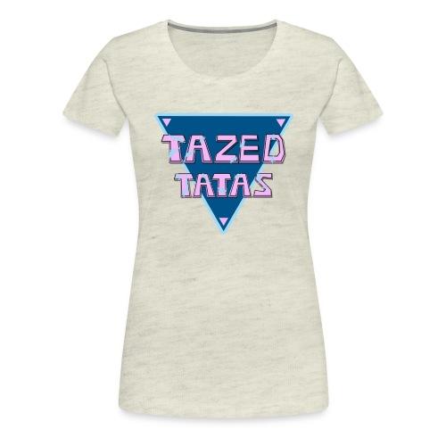 tazedtatasteedesign - Women's Premium T-Shirt