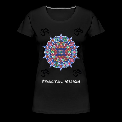 Fractal Vision - Women's Premium T-Shirt