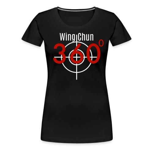 Wing Chun 360 shirt png - Women's Premium T-Shirt
