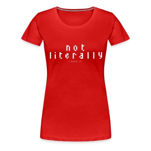 nlishipitlogotrans2 - Women's Premium T-Shirt