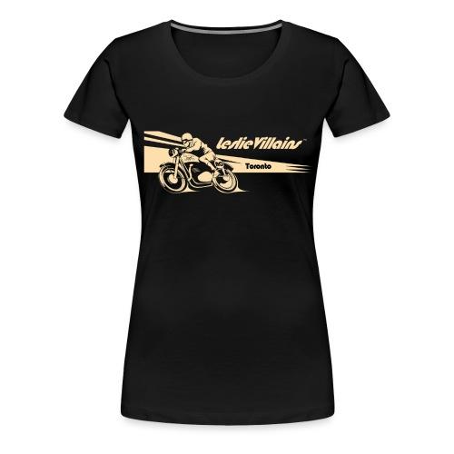 LESLIEVILLAIN CAFE 2 - Women's Premium T-Shirt