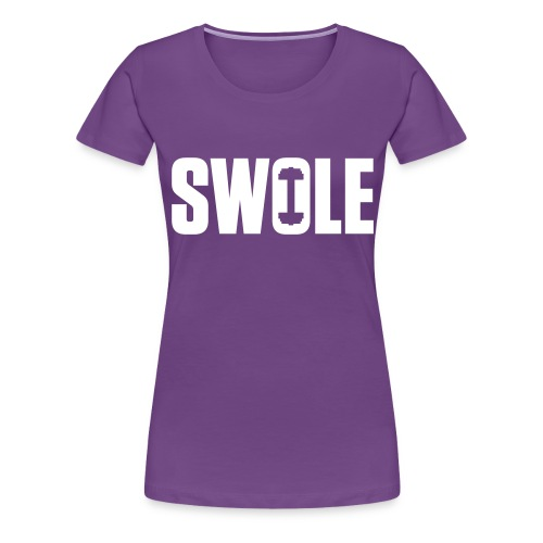 SWOLE - Women's Premium T-Shirt