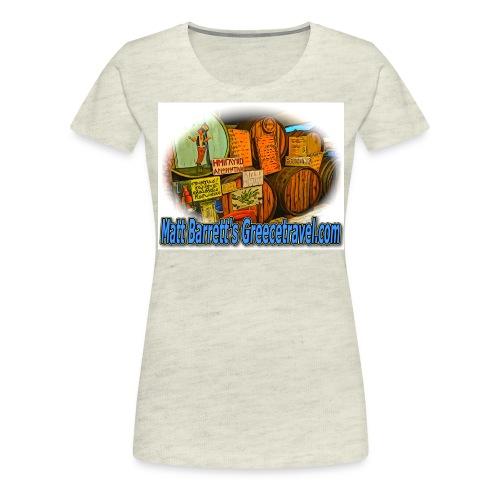 Greecetravel Kava jpg - Women's Premium T-Shirt