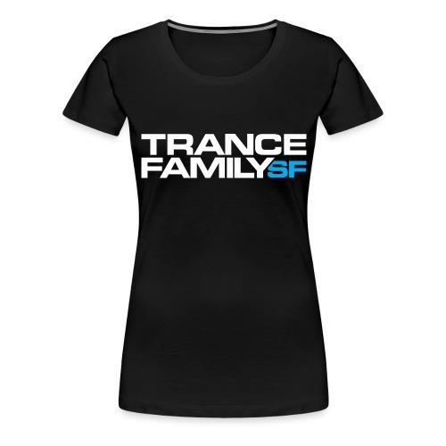 TFSF white png - Women's Premium T-Shirt
